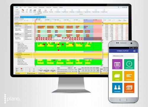 Workforce Management - Planungsoberfläche und mobiles Mitarbeiterportal