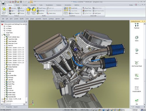 7. Produktbild IronCAD Design Collaboration Suite 2014