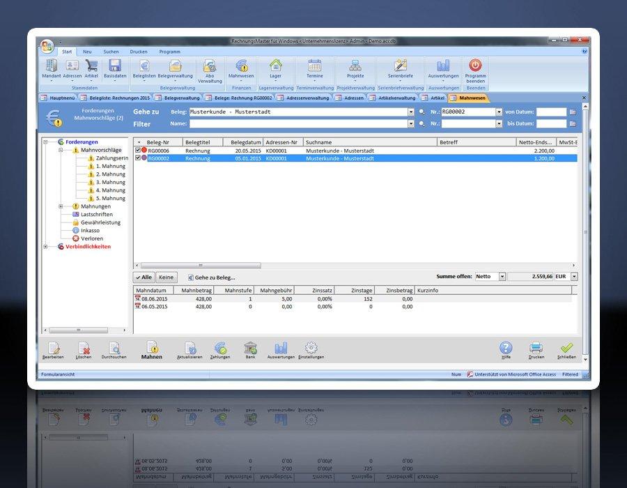 Software Rechnungsprogramm Rechnungsmaster Für Windows