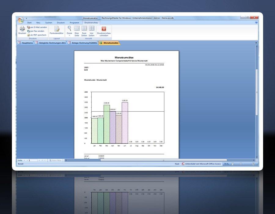 Software: Rechnungsprogramm RechnungsMaster für Windows ...