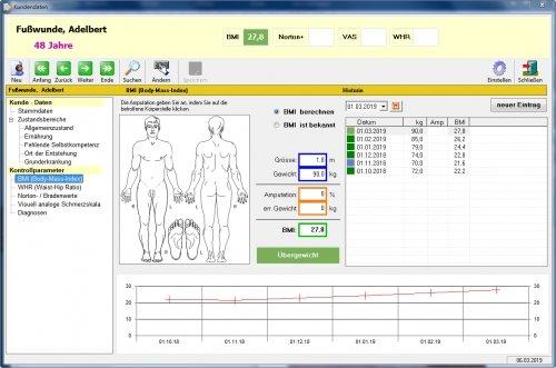 Patientenangaben BMI