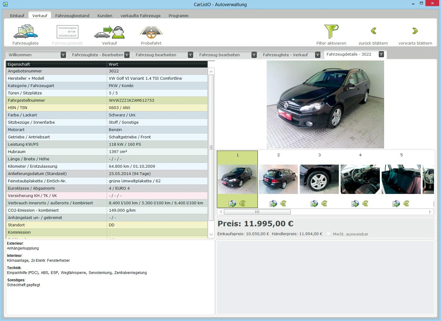 Mobile autoscout software