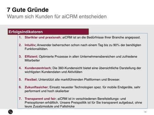 17. Produktbild aiCRM - Mobiles CRM für den Außendienst