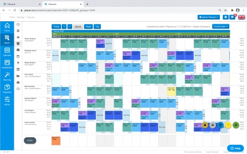Planerio erstellt automatisch Ihren Dienstplan