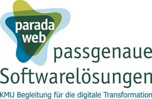 Firmenlogo paradaweb passgenaue Softwarelösungen Bremen