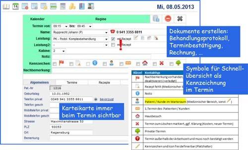 5. Produktbild Simple Webapps/a-app - Software für medizinische Praxen