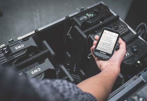 Scannen von QR- und/oder Barcodes mit der Rentman Mobile App