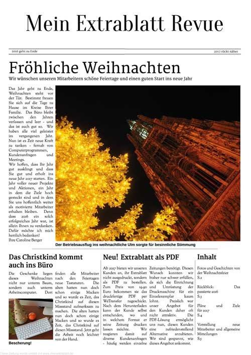 2. Produktbild Mein Extrablatt - Zeitungsgenerator