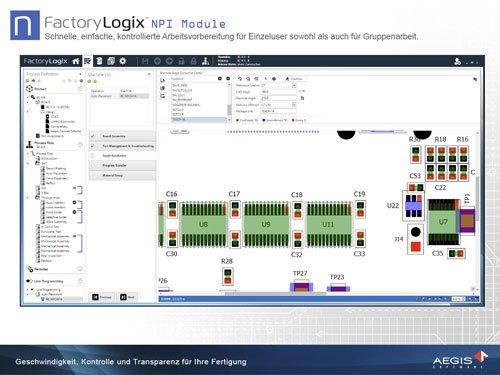3. Produktbild FactoryLogix - MES Suite