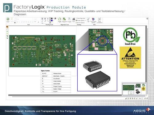 5. Produktbild FactoryLogix - MES Suite