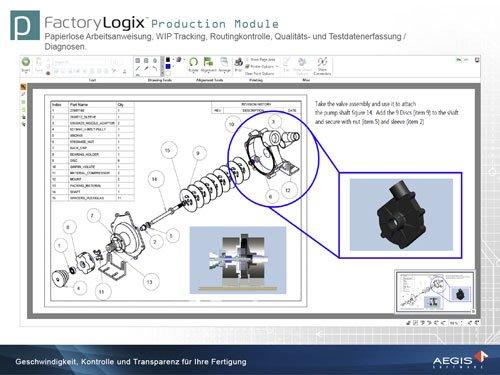 6. Produktbild FactoryLogix - MES Suite