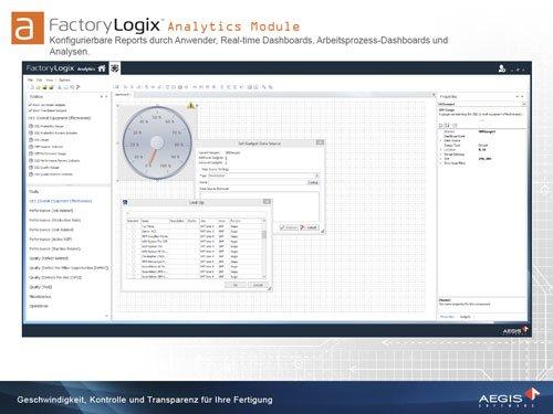 7. Produktbild FactoryLogix - MES Suite