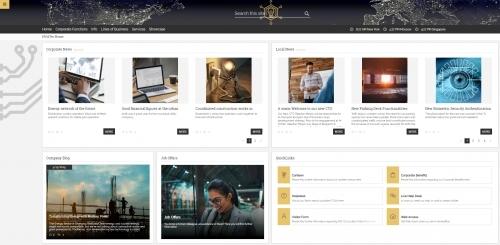 Startseite SharePoint Intranet