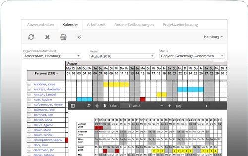 2. Produktbild rexx HR Vacationmanager - Urlaubsverwaltung