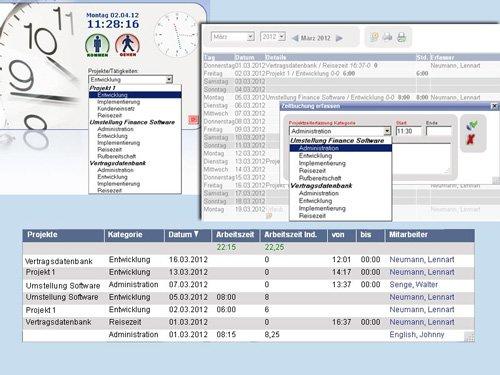 2. Produktbild rexx HR Zeiterfassung