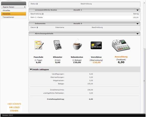 9.2 Produktbild Reisekostenabrechnung mit Viatos