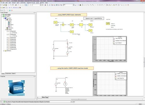 3. Produktbild ANSYS Simplorer - Systemsimulation
