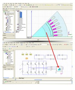4. Produktbild ANSYS Simplorer - Systemsimulation