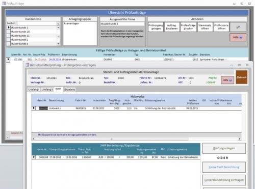 6. Produktbild CRANE Controll - Ihre Kundendienstsoftware