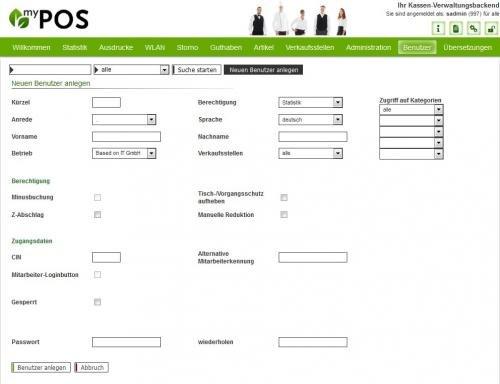 11. Produktbild MY POS - das webbasierte Kassensystem