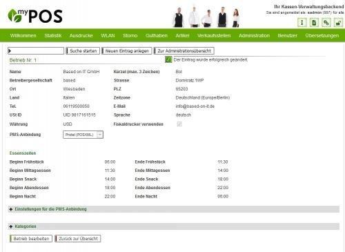 12. Produktbild MY POS - das webbasierte Kassensystem