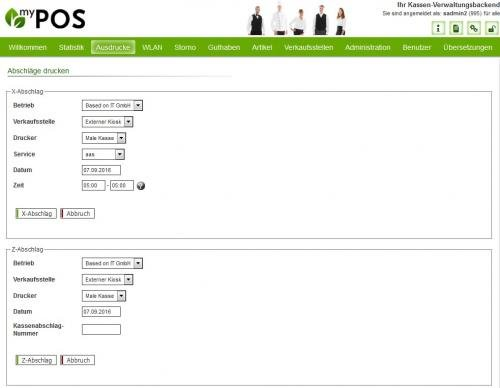 16. Produktbild MY POS - das webbasierte Kassensystem