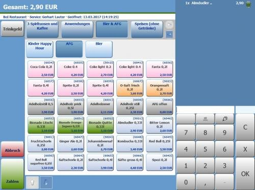 1. Produktbild MY POS - das webbasierte Kassensystem