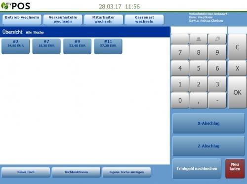 2. Produktbild MY POS - das webbasierte Kassensystem