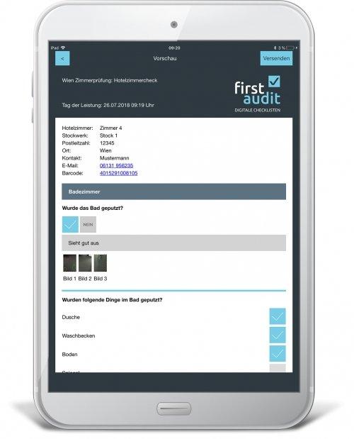 Reporting-PDF erstellen und als Mail versenden