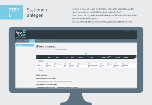 10. Produktbild firstaudit - Digitale Checklisten App