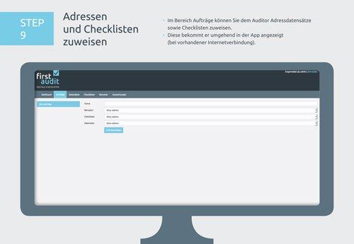 13. Produktbild firstaudit - Digitale Checklisten App