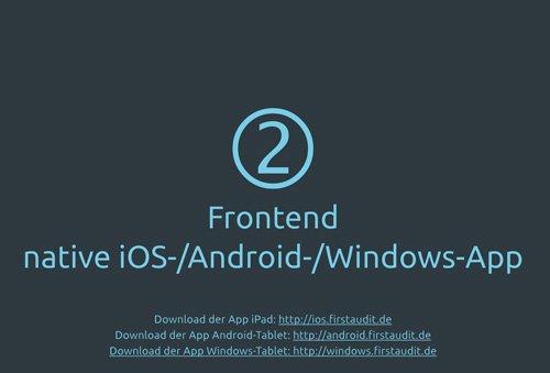 14. Produktbild firstaudit - Digitale Checklisten App