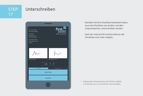 23. Produktbild firstaudit - Digitale Checklisten App