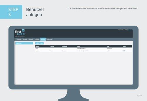7. Produktbild firstaudit - Digitale Checklisten App