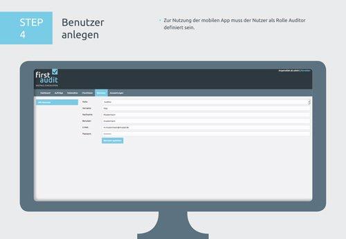 8. Produktbild firstaudit - Digitale Checklisten App