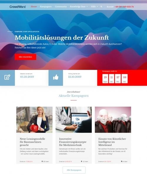 Produktbild Kampagnenübersicht