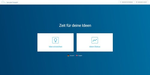 3. Produktbild everlean - Digitales Lean Management