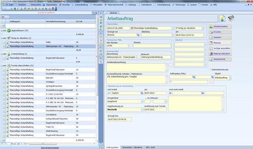 1. Produktbild ECCOSoft CMMS Instandhaltung