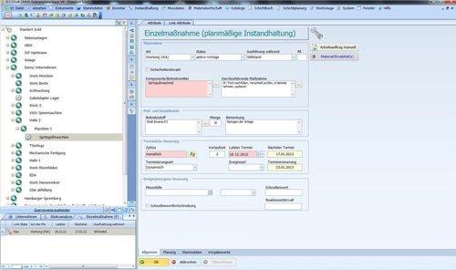 2. Produktbild ECCOSoft CMMS Instandhaltung