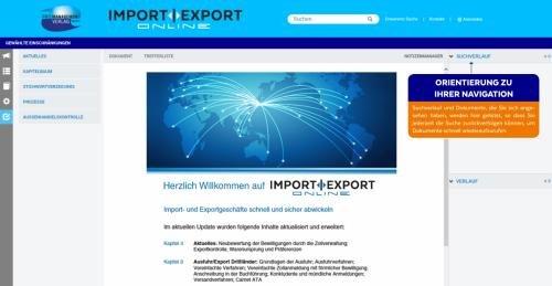 6. Produktbild IMPORT | EXPORT Online