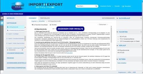 7. Produktbild IMPORT | EXPORT Online