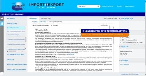 8. Produktbild IMPORT | EXPORT Online