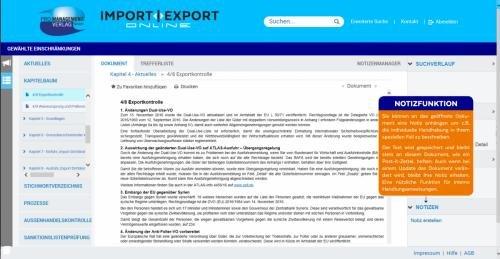 9. Produktbild IMPORT | EXPORT Online