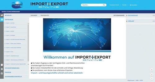 1. Produktbild IMPORT | EXPORT Online