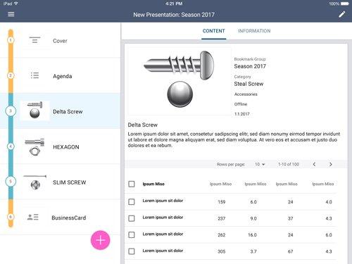 2. Produktbild SaleSphere - mobile Lösung für vertrieblichen Außendienst