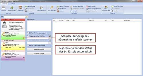 7. Produktbild KeyScan - Schlüsselverwaltung