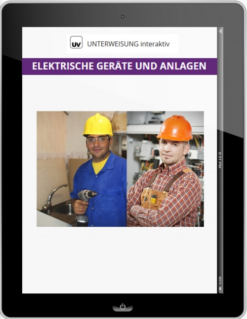 Unterweisung Elektrische Geräte und Anlangen