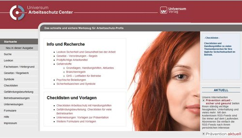 Produktbild Universum Arbeitsschutz Center