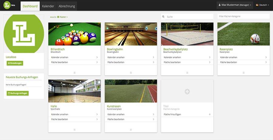 Locaboo raumverwaltung online software belegungskalender for Software raumplanung