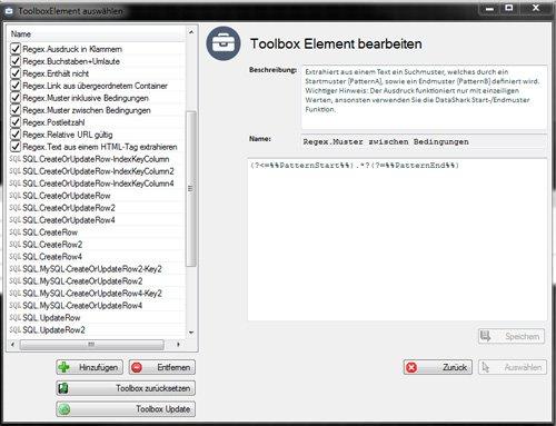 5. Produktbild DataShark - Web-Crawler